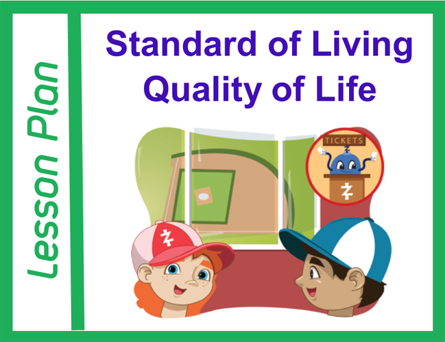 Standard of Living and Quality of Life Lesson Plan Cover Image