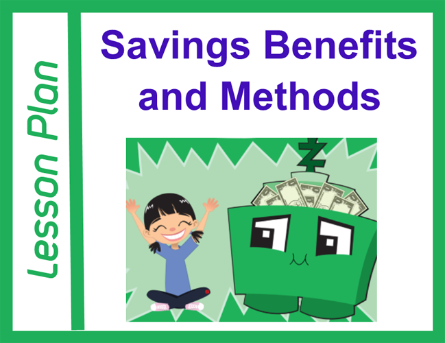 Savings Benefits and Methods Lesson Plan Cover Image