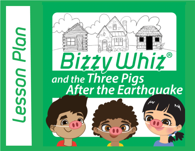 Three Pigs After the Earthquate Lesson Plan Cover Image